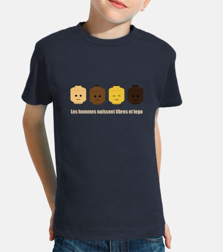 camiseta gratis y el niño lego