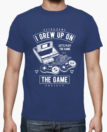 Camiseta Grew up on the Game
