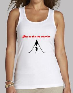 Camiseta guerreras cima / T- shirt warriors top