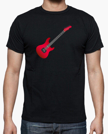 Camiseta guitarra electrica