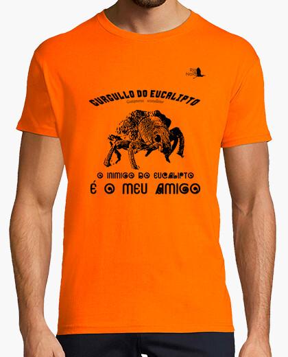 Camiseta GURGULLO EUCALIPTO NEGRO