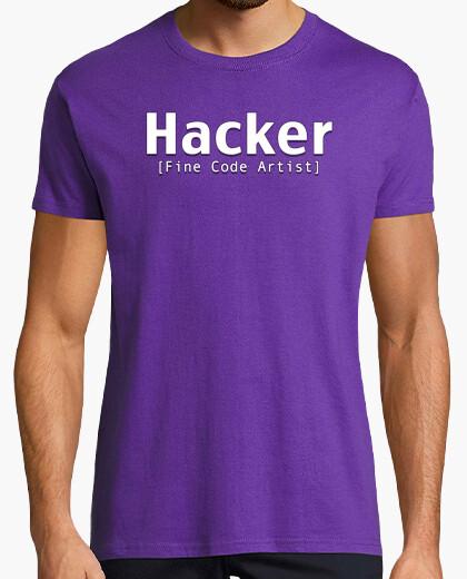 Camiseta Hacker [Fine Code Artist]...