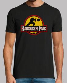 camiseta hadouken park