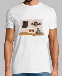 Camiseta Hard day Minecraft