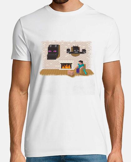 Camiseta Hard day Minecraft chico