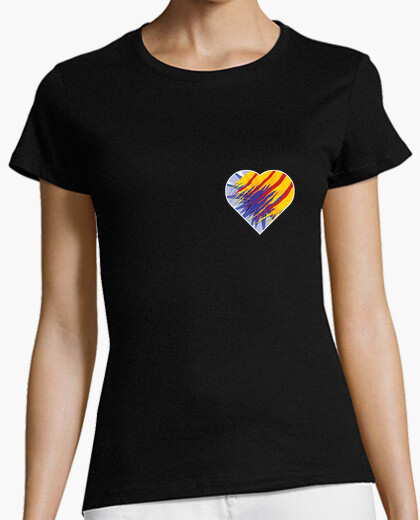 Camiseta Heart for Catalunya