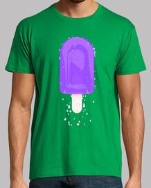 Camiseta helado de mora