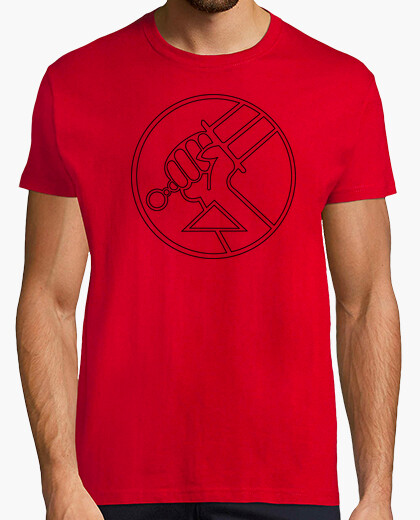 Camiseta Hellboy BPRD (Black)