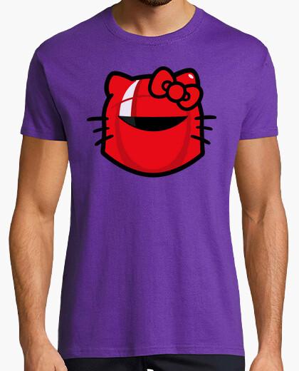 Camiseta Hello kitty star wars stormtrooper cine tv friki Chewbacca darth vader leia skywalker c3po r2d2 boba