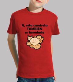 Camiseta heredada