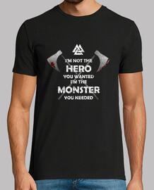 Camiseta HERO MONSTER Y.ES_051A_2019_Hero Monster