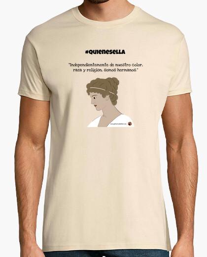 Camiseta Hipatia somos hermanos quienesella