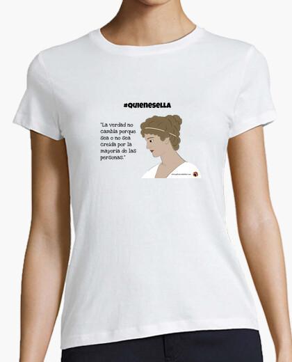 Camiseta Hipatia verdad quienesella