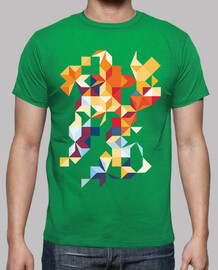 Camiseta Hipster Abstracto