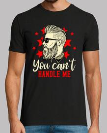 Camiseta Hipster Con Gafas de Sol Estilo Retro