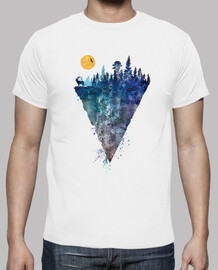 Camiseta Hipster Naturaleza