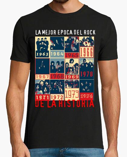 Camiseta Historia Rock