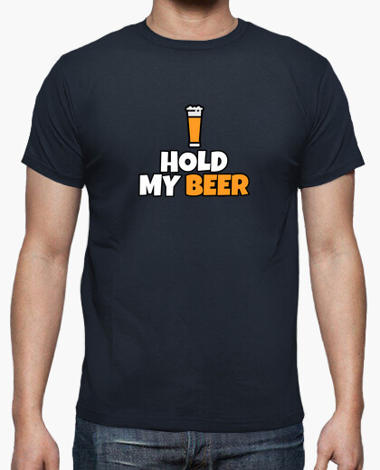 Camiseta Hold my beer