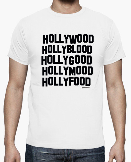 Camiseta Hollymoon noir
