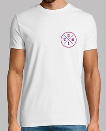 Camiseta Hombre - Blanco - Cero Positivo - #GOLDCOLLECTION