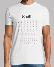 Camiseta hombre - Braille