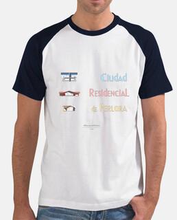 Camiseta hombre - Ciudad Residencial de Perlora con chalets