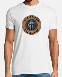 Camiseta Hombre - Escudo Mazdalorian