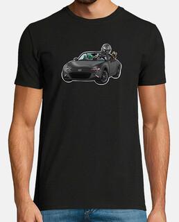 Camiseta Hombre - Mazdalorian gray car