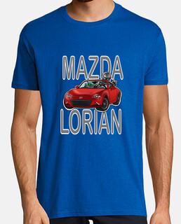 Camiseta Hombre - Mazdalorian red car