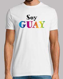 "Camiseta hombre ""Soy Guay""."