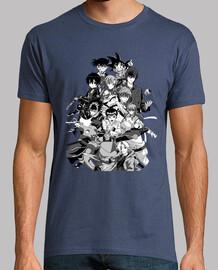Camiseta hombre Anime Mix