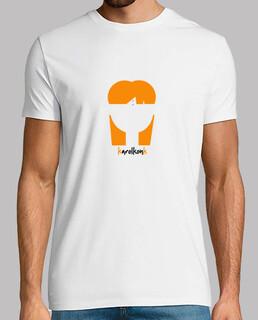 Camiseta Hombre Blanca karolkonk