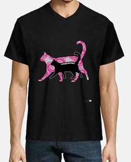 Camiseta hombre: Catlike Instinct - Instinto felino