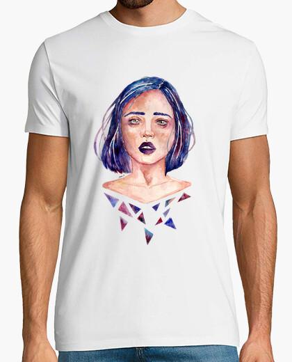 Camiseta hombre Chica en pedazos