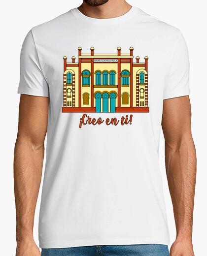 Camiseta hombre diseño Teatro Falla Creo...