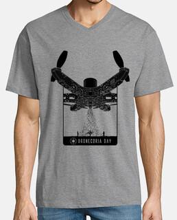 Camiseta hombre Dronecoria Day