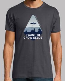 Camiseta hombre Dronecoria Expediente X Ovni