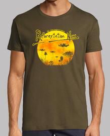 Camiseta hombre Dronecoria Reforestation Now