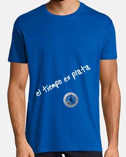 Camiseta hombre el tiempo es plata