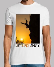 camiseta hombre escalada