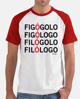 Camiseta hombre, estilo béisbol
