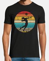 Camiseta hombre, estilo retro