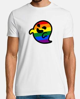 Camiseta hombre fantasma gay - Gaysper - LGTBI
