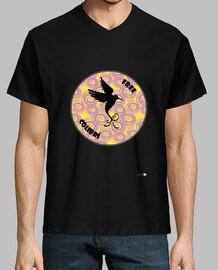Camiseta hombre: Free Colibrí