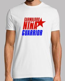 Camiseta Hombre GarmaLobo NIÑA GUARRIOR