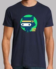 Camiseta hombre Gato ninja (varios modelos y colores)