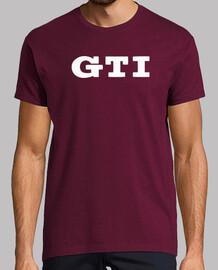 Camiseta Hombre GTI blanco