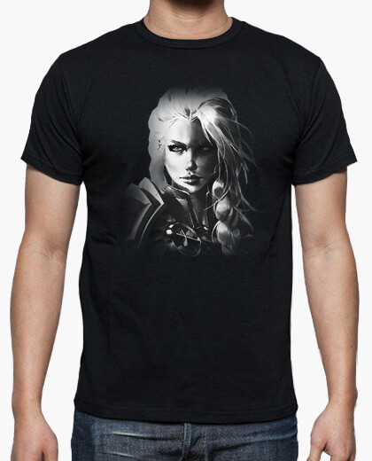 Camiseta Hombre Jaina B&N