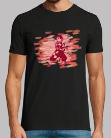 Camiseta hombre Kamado Tanjiro