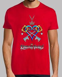 Camiseta hombre Kindom Hearts